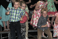 HNC Kindergartners show their skills by singing and dancing
