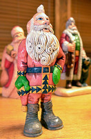 Santa Carvings