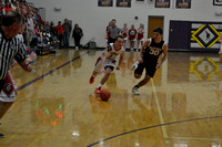 Sean Kathol Driving down the court