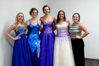 Queen candidates-Kienna Berg, Kaci Groene, Katie Leapley, Lyndsey McCoy & Katelyn Cook